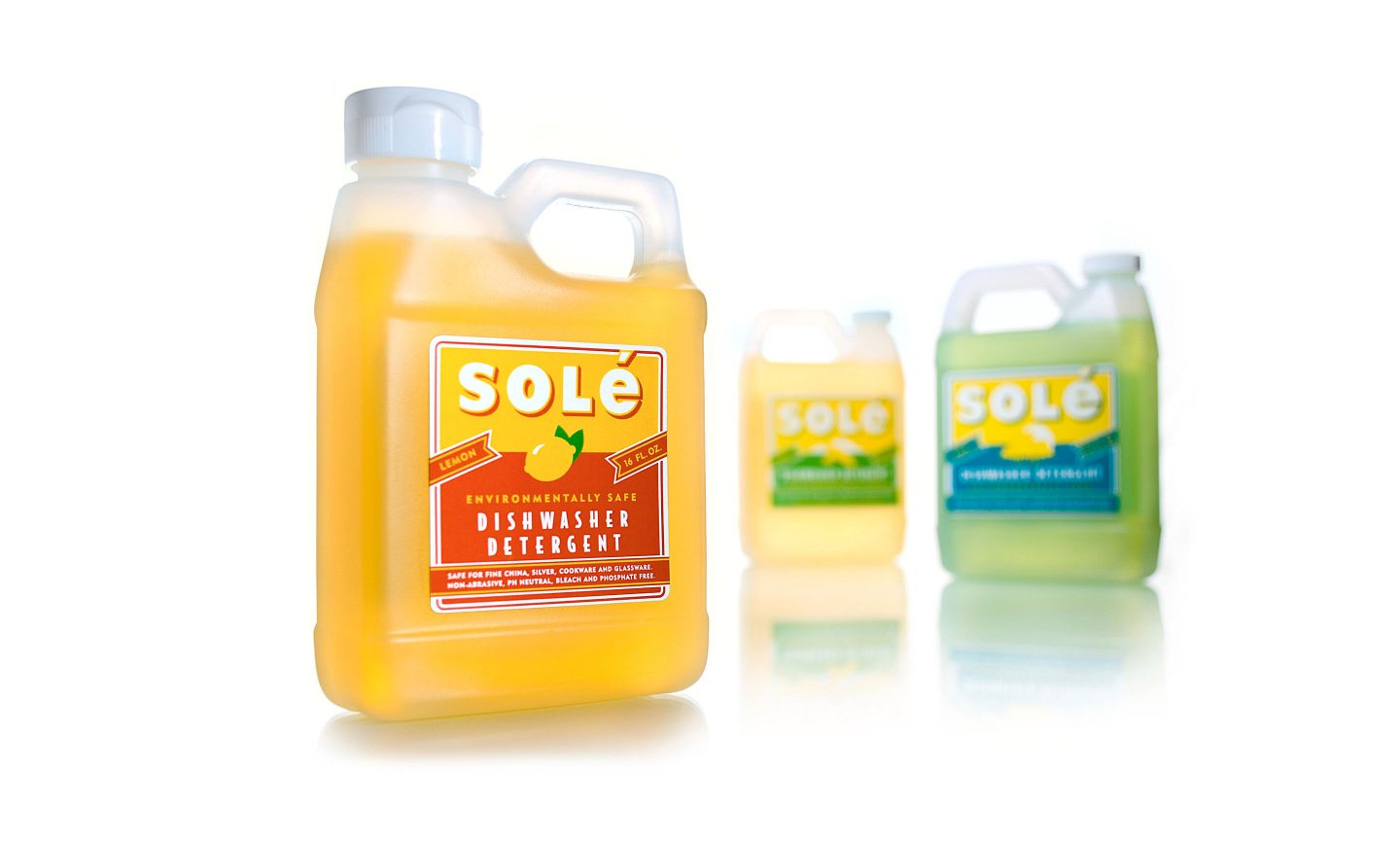 Solé Detergent Design & Package Graphics