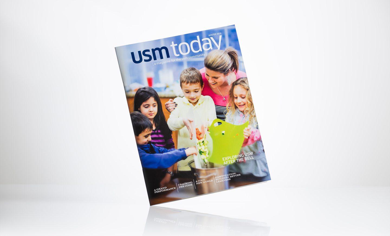 University School of Milwaukee - USM Today magazine, Winter 2014