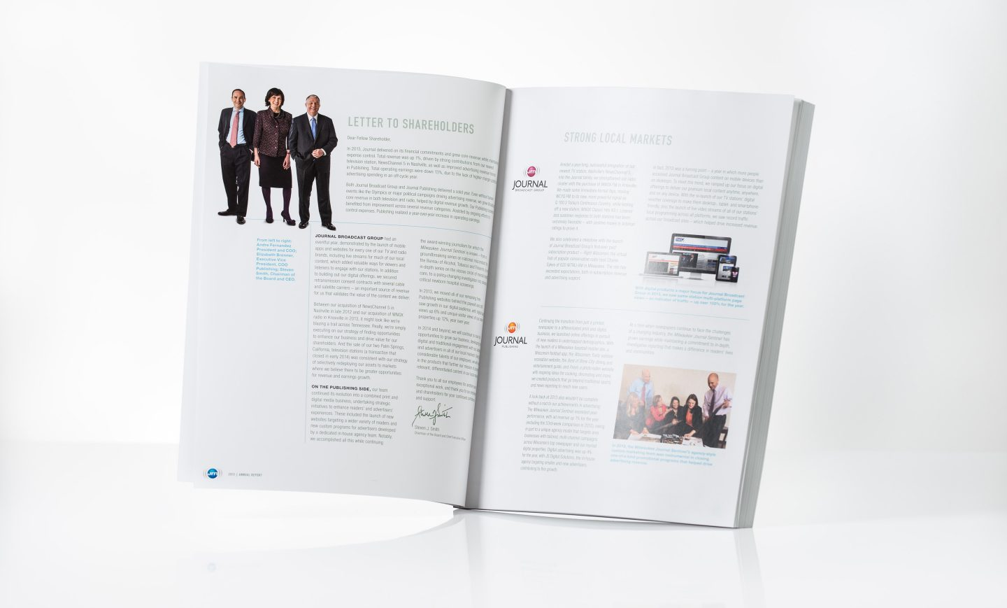 2013 Journal Communications Annual Report