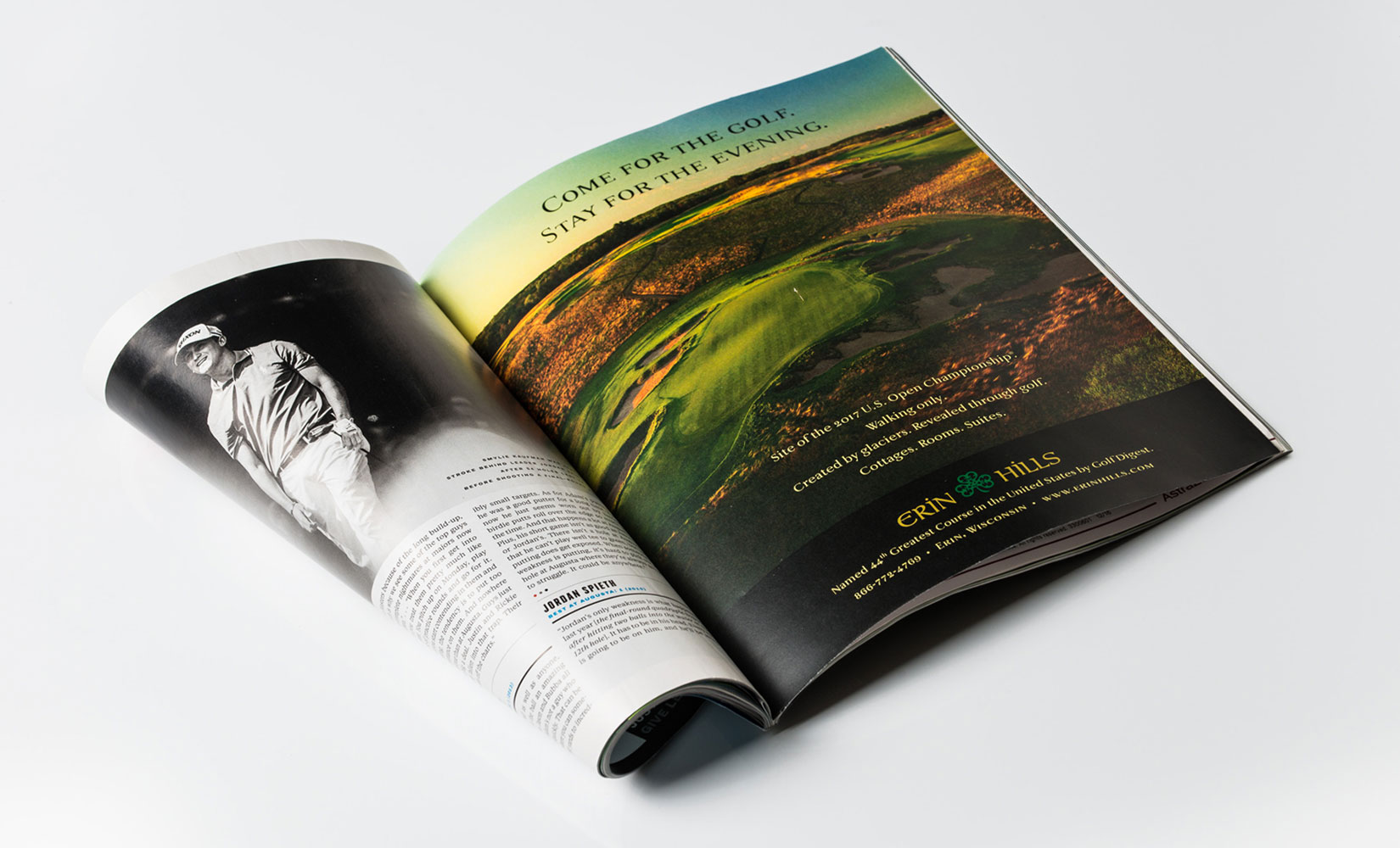 Erin Hills Magazine Ad
