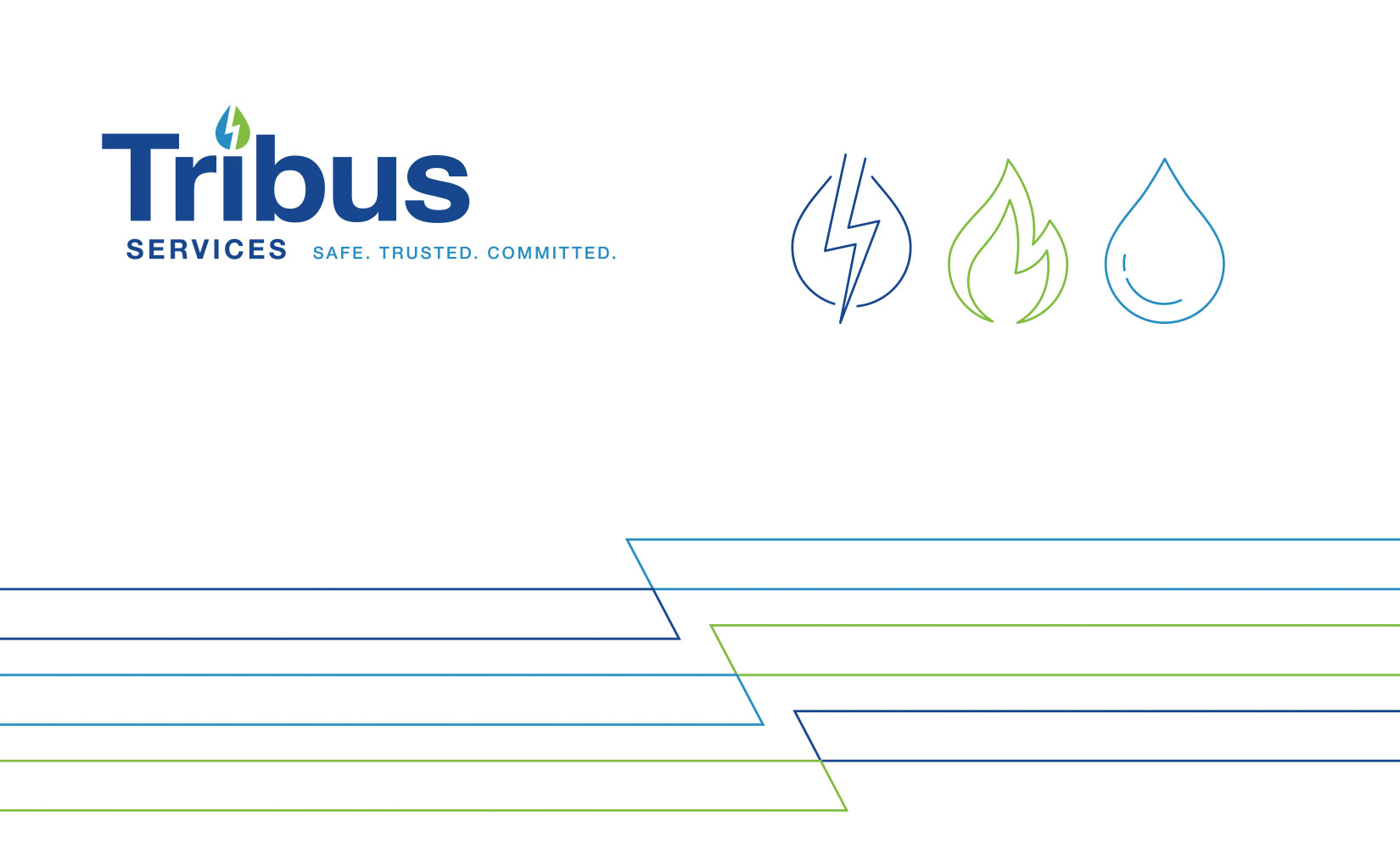 Tribus Branded Environment - Wall graphics