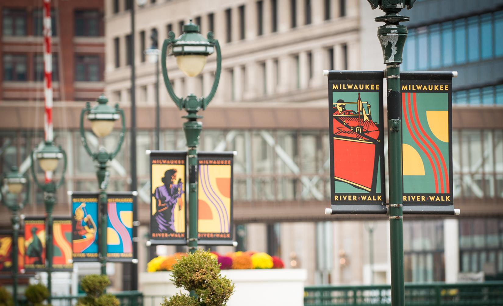 Riverwalk Street Banners